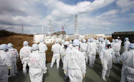 Tepco workers
