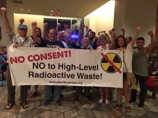 No Consent to High Level Waste