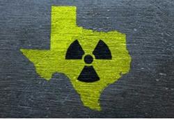 radioactive Texas symbol