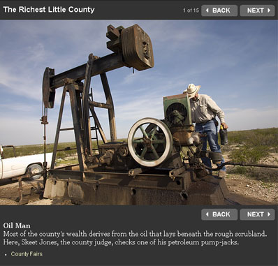 richest little county in Texas