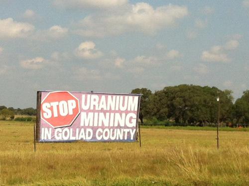 Stop Uranium Mining in Goliad County