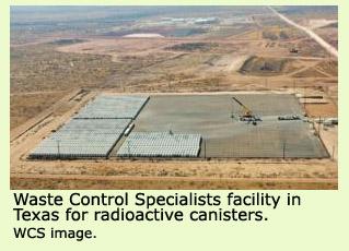 WCS facility